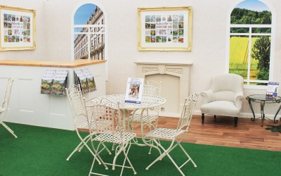 Country Life exhibition stand