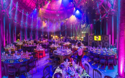 Save the Children 'Night of Motown' room dressing at the Roundhouse
