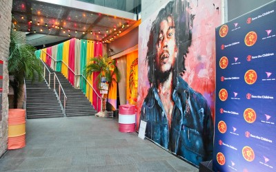 Save the Children 'Night of Reggae' entrance feature