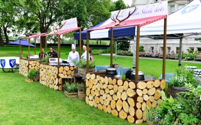 Scottish inspired food stalls
