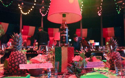Save the Children 'Night of Reggae' table centres